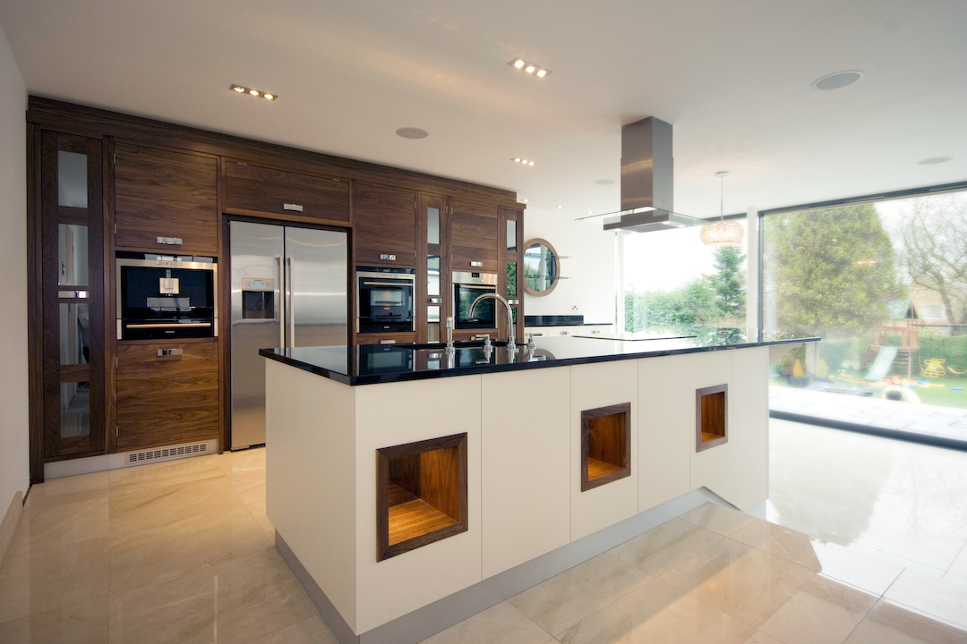Harrogate kitchen extensions and open plan living Contemporary open plan kitchen