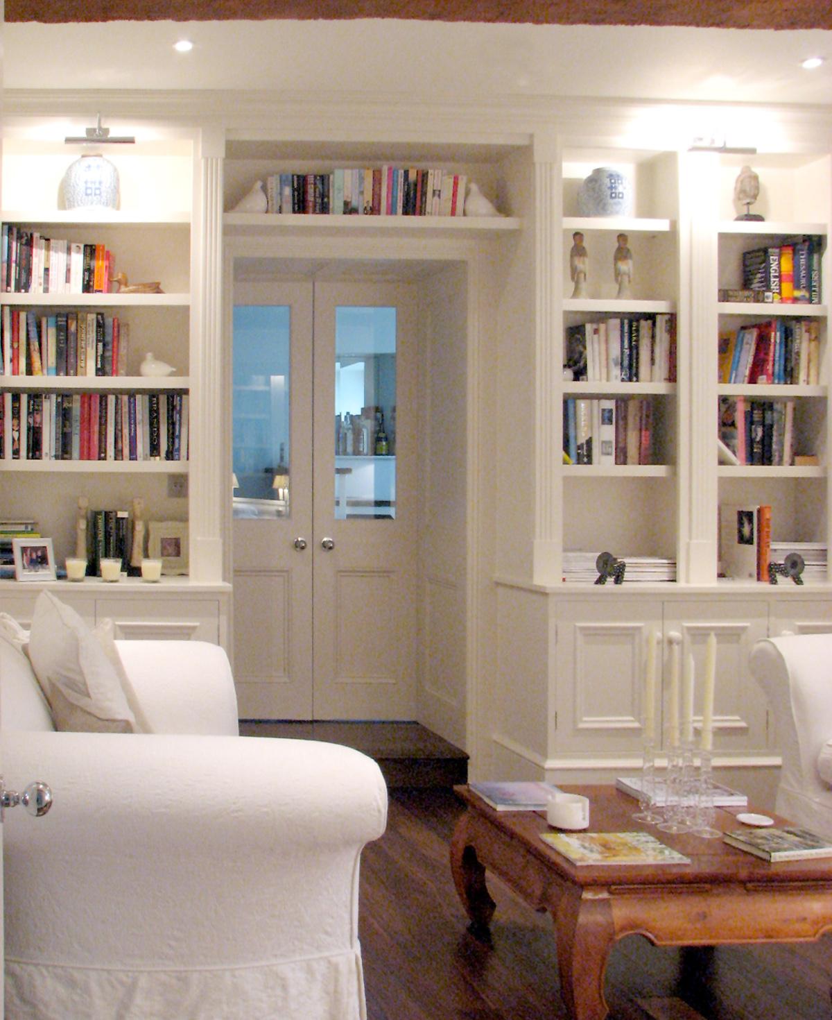 Painted  Door Bookcase
